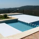 Energiesparende Lamellenabdeckungen für Ihren Pool